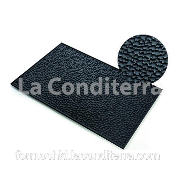 Cиликоновый коврик для мастики LOVE MAT с текстурой сердечек (585x385 мм)