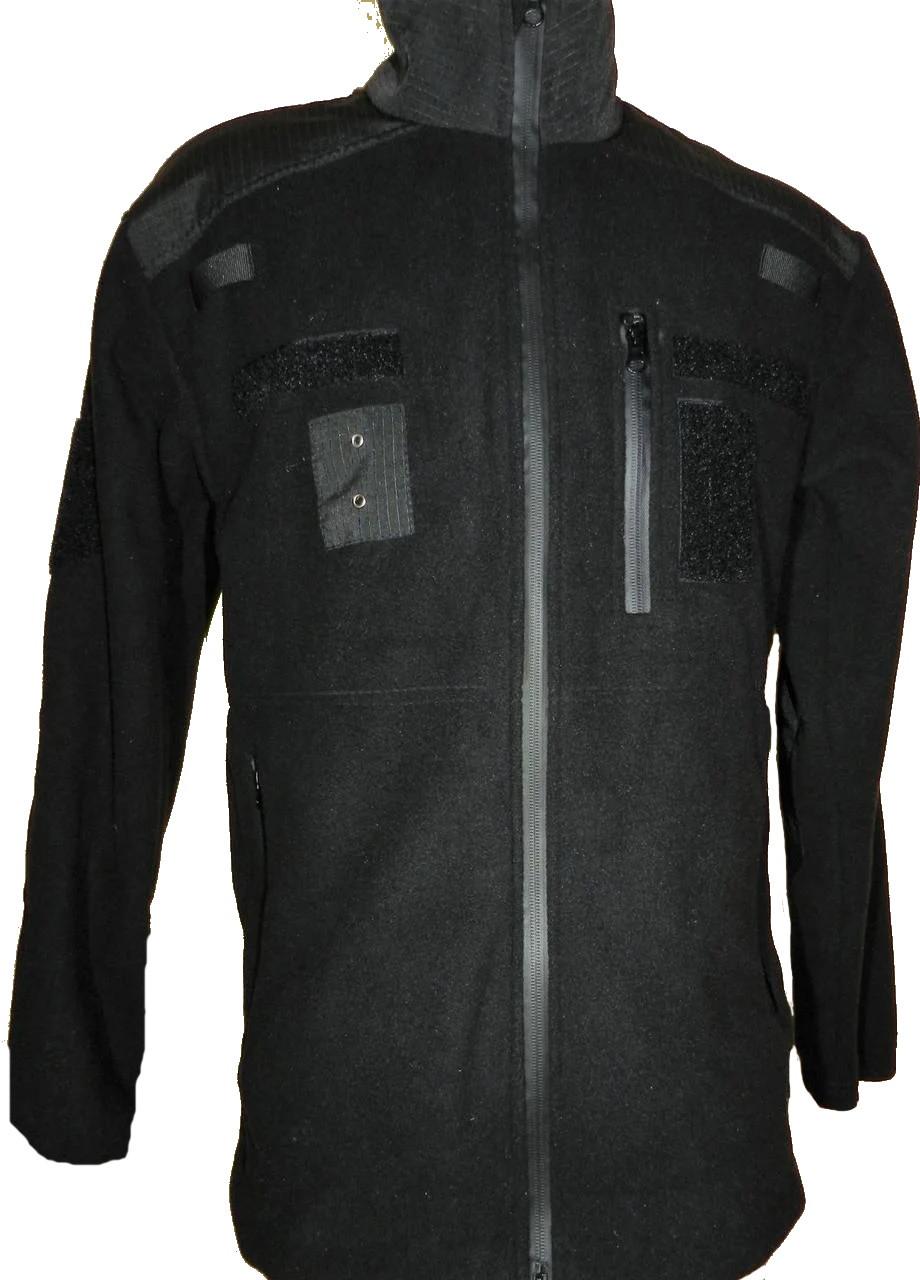 Кофта тактическая флисовая полиция (черная)