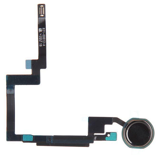 Шлейф Apple iPad Mini 3 Retina с кнопкой Home Black