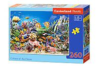 Пазлы Подводный мир на 260 элементов