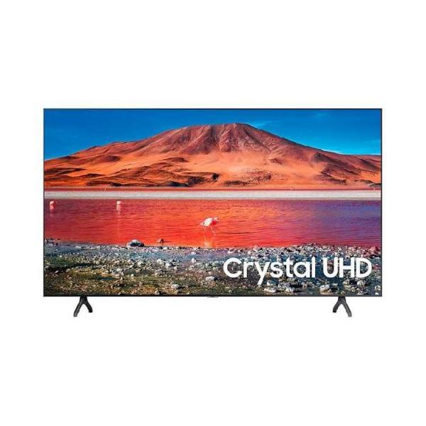 Телевизор Samsung UE55TU7100UXUA 55 4К Crystal UHD, Smart TV, WiFi, Bluetooth, Dark Silver