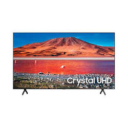 Телевизор Samsung UE55TU7100UXUA 55 4К Crystal UHD, Smart TV, WiFi, Bluetooth, Dark Silver