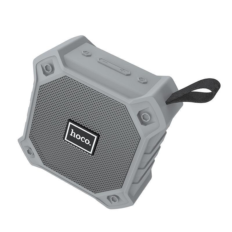Портативная акустика HOCO sports BT5.0 IPX5 BS34 |AUX, TF CARD, FM, USB| Grey