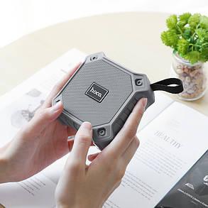 Портативная акустика HOCO sports BT5.0 IPX5 BS34 |AUX, TF CARD, FM, USB| Grey, фото 2