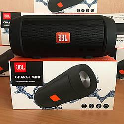 Портативная колонка JBL Charge 2+ MINI W2 - Bluetooth, FM, MP3 черная копия