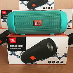 Портативная колонка JBL Charge 2+ MINI W2 - Bluetooth, FM, MP3 зеленая копия