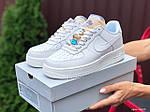 Женские кроссовки Nike Air Force (белые) 9821, фото 2