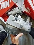 Мужские кроссовки Nike Air Force 1 Low Type N. 354 Grey (серые) 501TP, фото 3