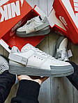 Мужские кроссовки Nike Air Force 1 Low Type N. 354 Grey (серые) 501TP, фото 5