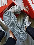 Мужские кроссовки Nike Air Force 1 Low Type N. 354 Grey (серые) 501TP, фото 6