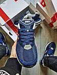 Мужские кроссовки New Balance 991 Blue (синие) Рефлективные 498PL, фото 7