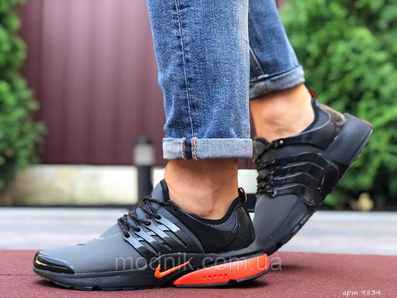 Мужские кроссовки Niке Air Presto (серые) 9834