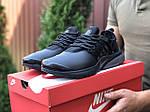 Мужские кроссовки Niке Air Presto (черные) 9835, фото 2