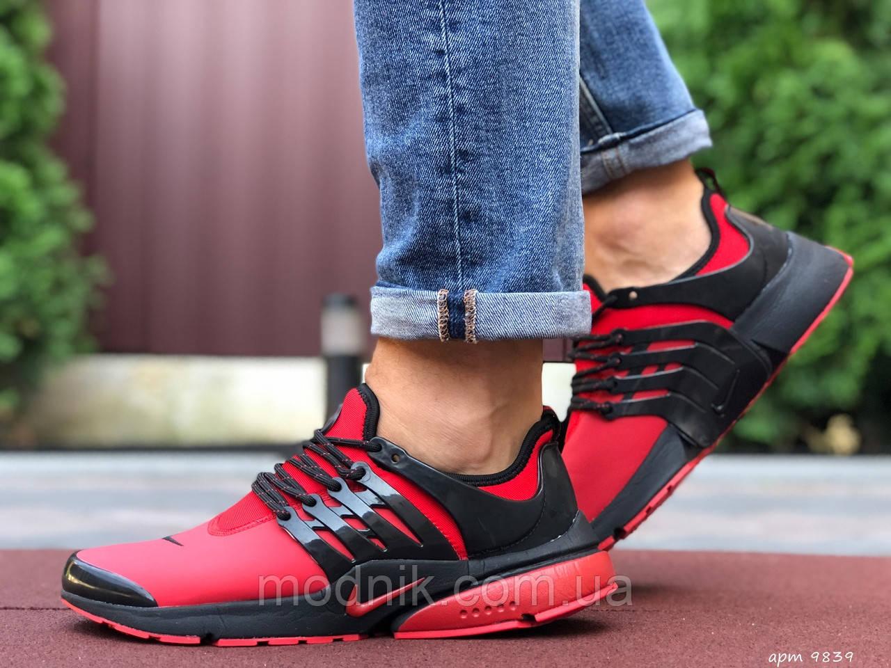 Мужские кроссовки Niке Air Presto (красные) 9839