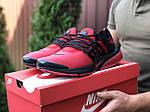 Мужские кроссовки Niке Air Presto (красные) 9839, фото 2