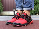 Мужские кроссовки Niке Air Presto (красные) 9839, фото 4