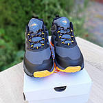 Мужские зимние кроссовки The North Face (серо-оранжевые) 3517, фото 2