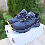 Мужские зимние кроссовки The North Face (серо-оранжевые) 3517, фото 3