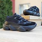 Женские кроссовки Adidas yeezy 500 (черные) 2990, фото 2