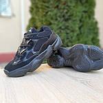 Женские кроссовки Adidas yeezy 500 (черные) 2990, фото 4