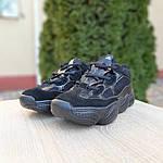 Женские кроссовки Adidas yeezy 500 (черные) 2990, фото 5