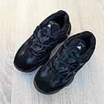 Женские кроссовки Adidas yeezy 500 (черные) 2990, фото 7