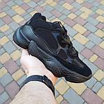 Женские кроссовки Adidas yeezy 500 (черные) 2990, фото 8