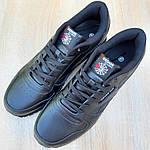 Мужские кроссовки Reebok Classic (черные) ВЕЛИКАНЫ 10269, фото 2