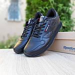 Мужские кроссовки Reebok Classic (черные) ВЕЛИКАНЫ 10269, фото 3