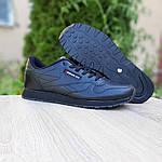 Мужские кроссовки Reebok Classic (черные) ВЕЛИКАНЫ 10269, фото 4