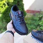 Мужские кроссовки Reebok Classic (черные) ВЕЛИКАНЫ 10269, фото 5