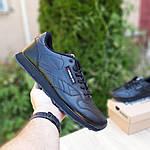 Мужские кроссовки Reebok Classic (черные) ВЕЛИКАНЫ 10269, фото 6