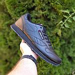Мужские кроссовки Reebok Classic (черные) ВЕЛИКАНЫ 10269, фото 7