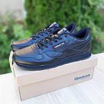 Мужские кроссовки Reebok Classic (черные) ВЕЛИКАНЫ 10269, фото 8