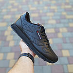 Мужские кроссовки Reebok Classic (черные) ВЕЛИКАНЫ 10269, фото 9