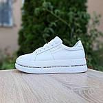 Женские высокие кроссовки Calvin Klein (белые) 20222, фото 8