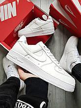 Мужские кроссовки Nike Air Force 1 Low White (белые) 491TP