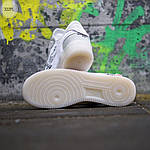 Мужские кроссовки Nike Air Force x Off-White White (белые) 322PL, фото 6