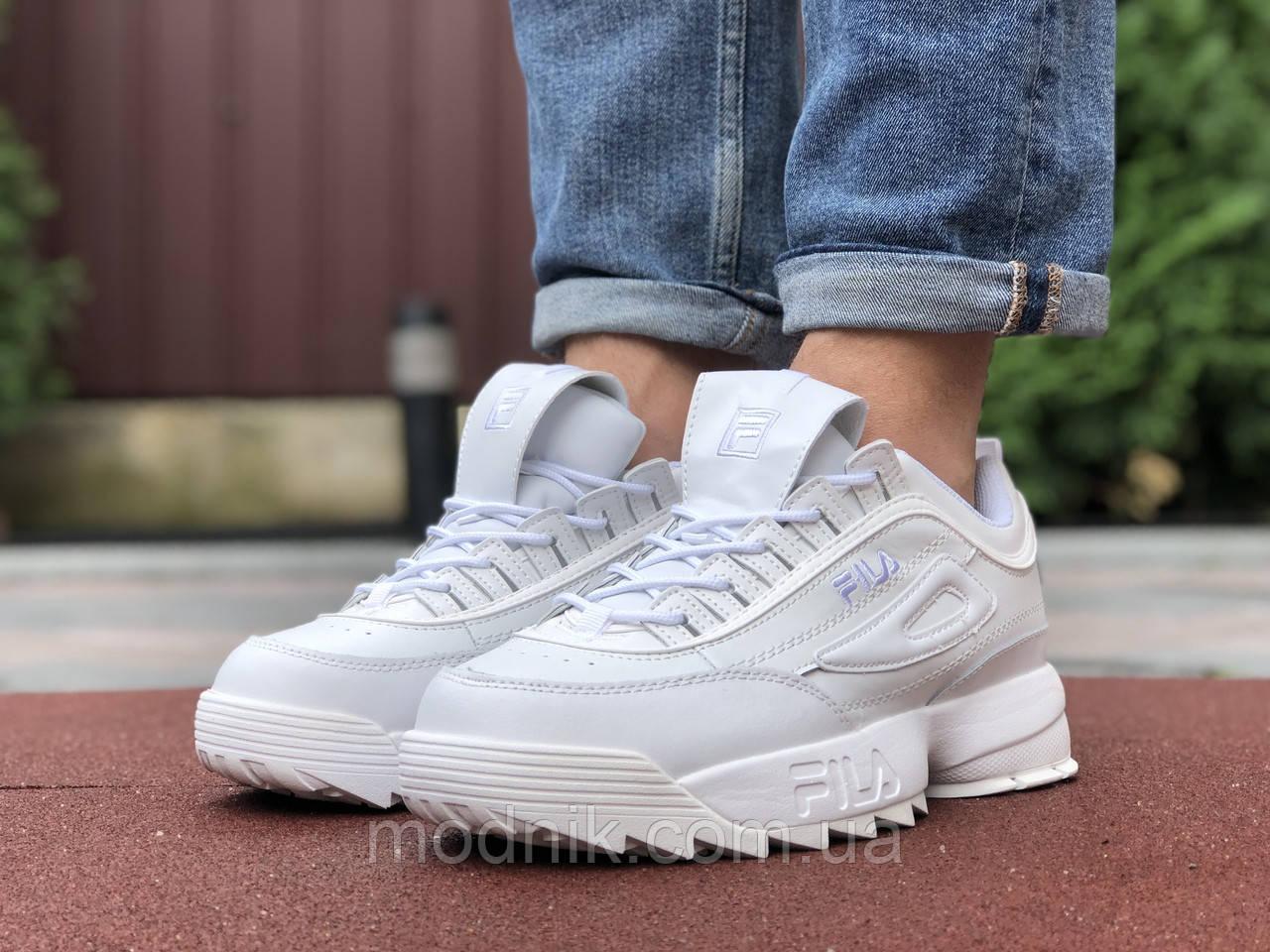 Мужские кроссовки Fila Disruptor 2 (белые) 9840