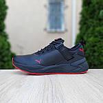 Мужские кроссовки Puma (черно-красные) 10272, фото 9