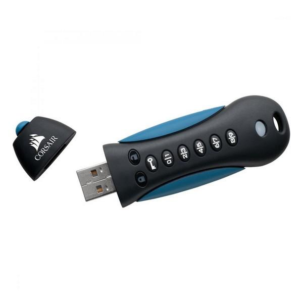 Флеш память Flash Padlock Corsair 3 Secure USB 3.0 (CMFPLA3B-64 GB)