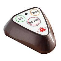 Кнопка виклику офіціанта R-133 Brown / Silver