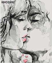 Картина по номерам. «Ты - мой космос» (КНО2692)