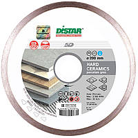 Круг алмазный 200x1.6x10x25.4 Distar 1A1R Hard Ceramics, фото 1
