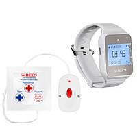 Система вызова для инвалида RECS №43   кнопки вызова медсестры 1 шт + пейджер персонала, фото 1