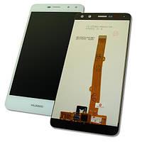 Huawei Дисплей Huawei Y5 2017 Y6 2017 Y5 III с сенсором, белый (оригинальные комплектующие), фото 1