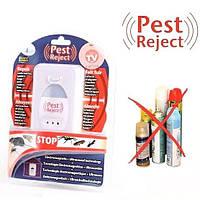Отпугиватель ультразвуковой от мышей и грызунов крысТараканов комаровБлох Насекомых Riddex відлякувач мишей, фото 1