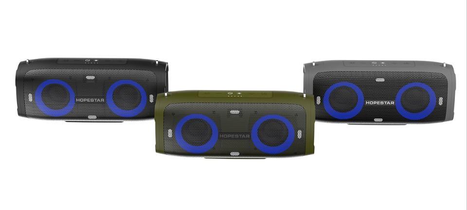 Портативная акустическая стерео колонка (Bluetooth) HOPESTAR A6 Party