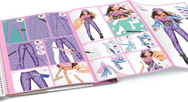 top model дизайн одежды