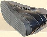 Ботинки зимние мужские кожаные от производителя модель СЛ55-1, фото 4